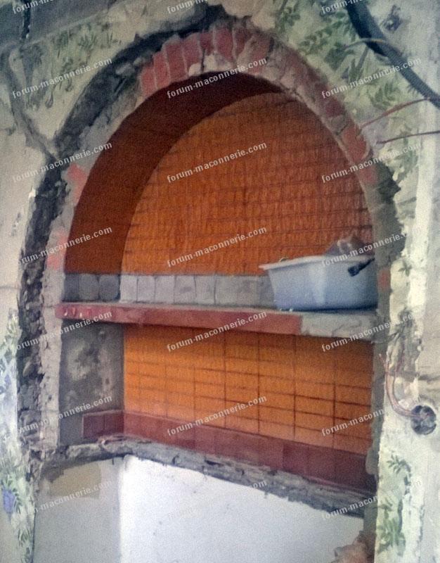 Forum maçonnerie, renforcer arche en pise