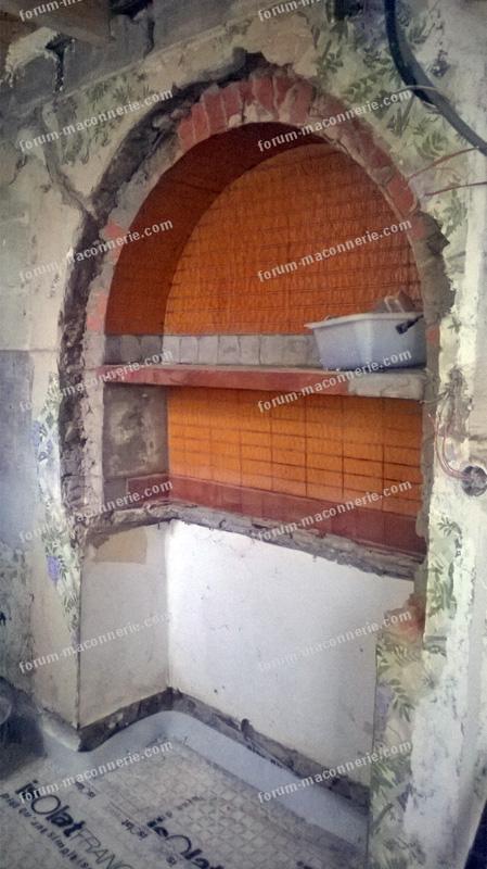 renforcer arche creusée dans le pisé