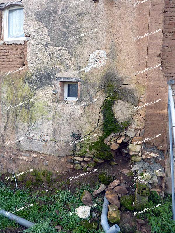 renovation mur en terre