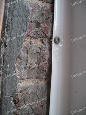 réparation bas de mur