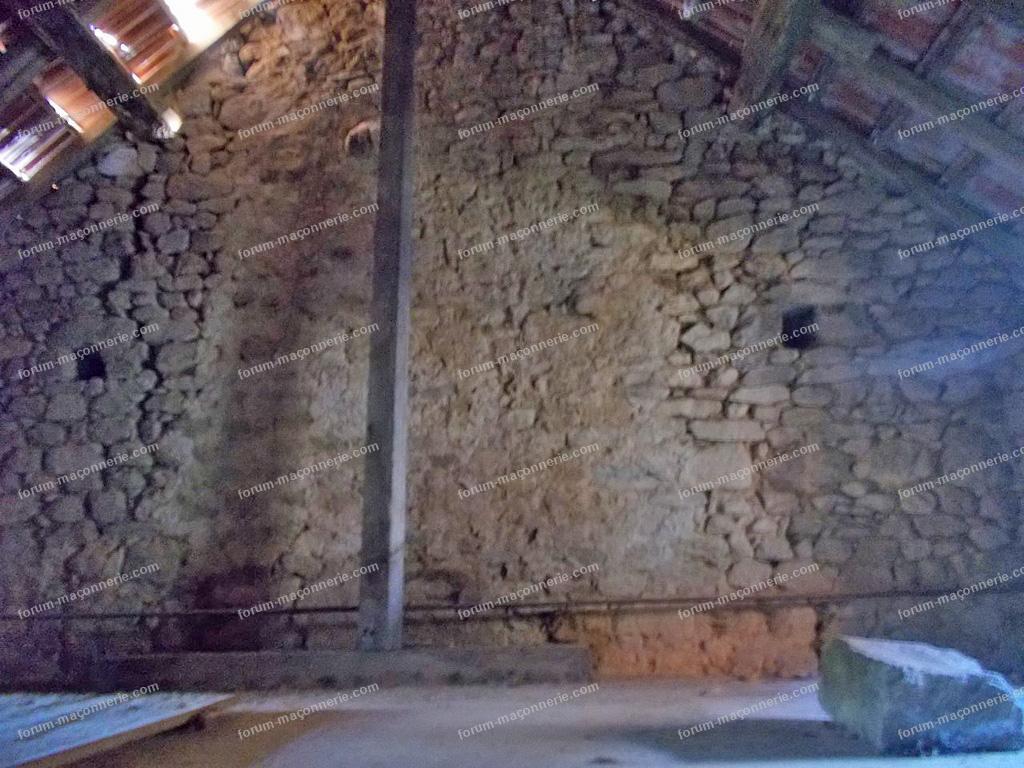 réparation fissure mur en moellons