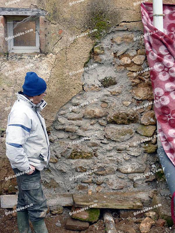 reparation mur