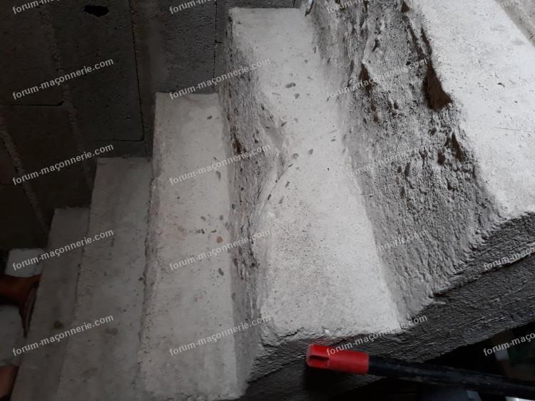 conseils pour réparer des marches d'escalier