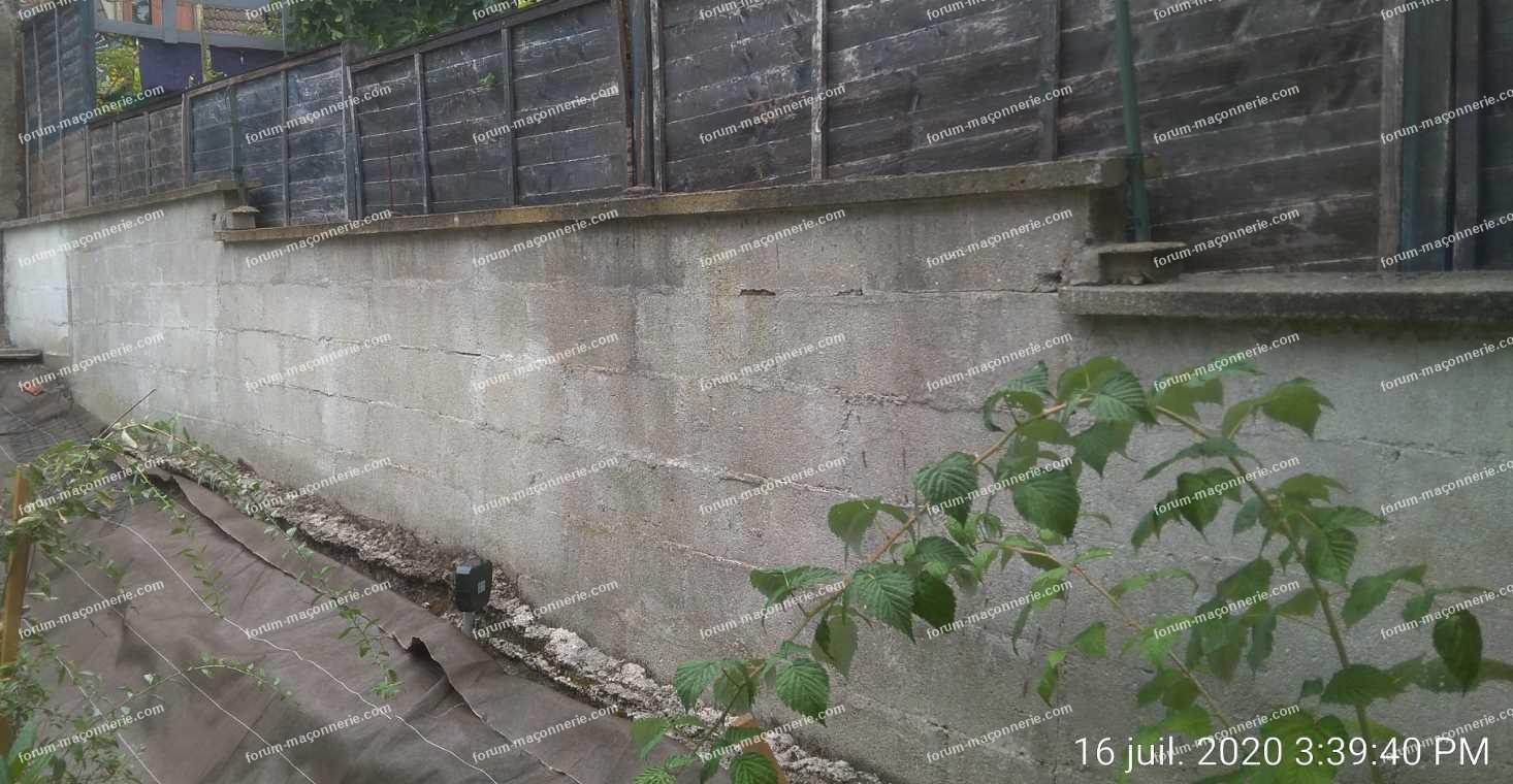 réparer murs en parpaing