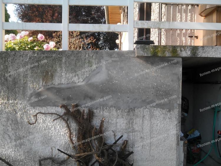 réparer un crépi à l'ancienne