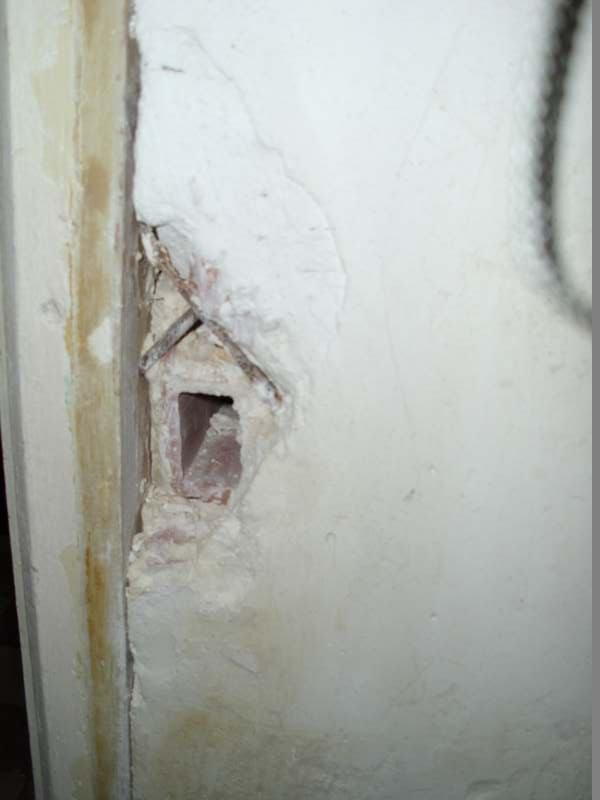 Réparer un mur en plâtre conseils.