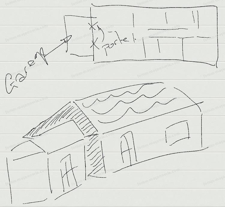 schéma ouverture mur porteur maison
