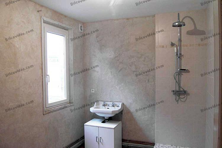 sdb avant travaux sdb aprs travaux revetement mural salle de bain