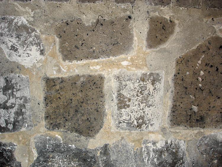 soubassement pierres calcaire