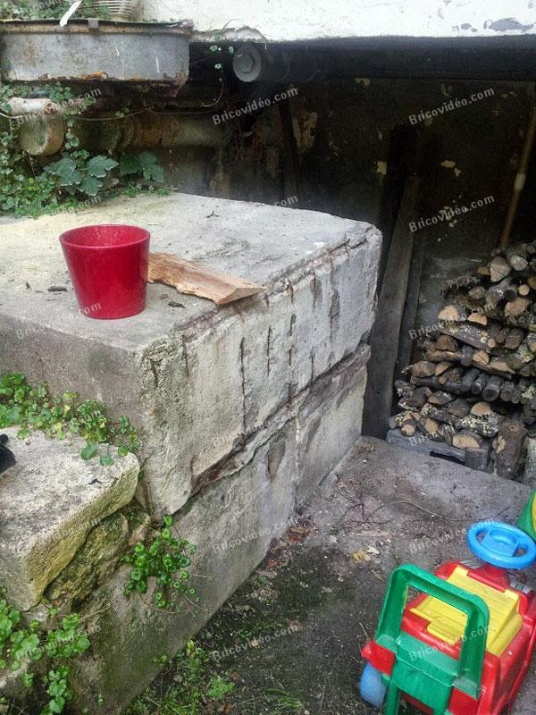 supprimer un bloc de beton 01
