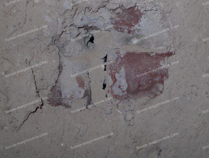 torchis mur nord détail