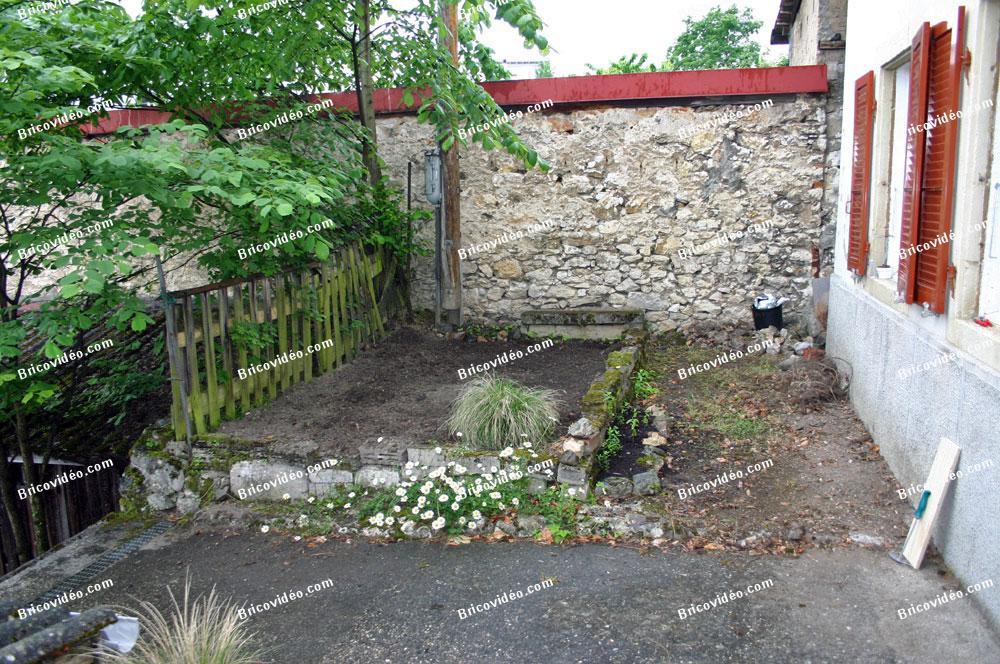 Travaux exterieur jardin